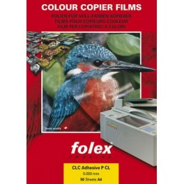 Folex CLP Adhesive P WOA4 - bílá lesklá samolepka