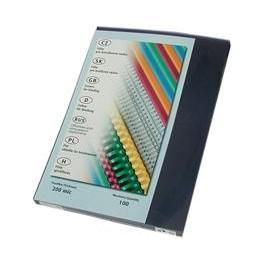 desky pro vazbu čiré,200mic, A4