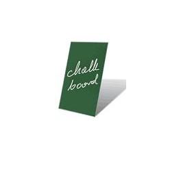 deska zelená magnetická pro popis křídou, A2