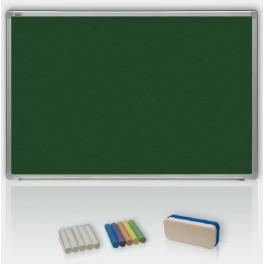 magneticko-keramická tabule 120x180 - křída, ALU23