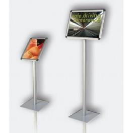 informační tabule na stojanu, výška 120, A3 na šířku