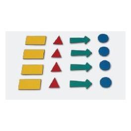 magnetické symboly 4 listy