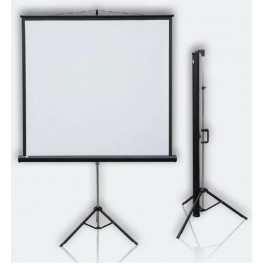 Mobilní projekční plátno Profi Tripod mobil 177x177 1:1