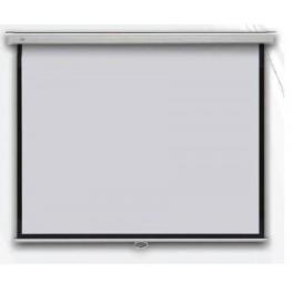 Profi manual 240 x 240 cm - projekční plátno na zeď manuální