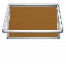 vitrína 9xA4/75x101, korkový vnitřek