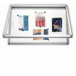 vitrína magnet,vodotěsná, 6xA4/75x70cm