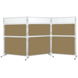Panel 2x3 Modular, 120 x 180 cm, korkový