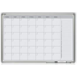 Měsíční plánovací tabule 60x90 - hliníkový rám