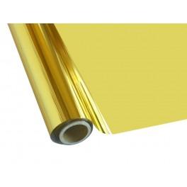Metalická fólie barvící - zlatá š. 30 cm x 12 m