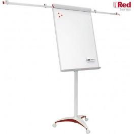Flipchart Mobilchart PRO RED 100x70 cm