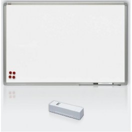magnetická tabule Premium, lakovaná  120 x 200 cm