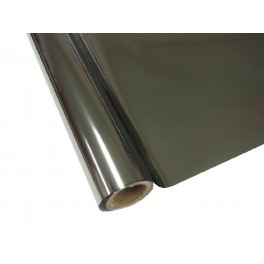 Metalická fólie barvící - stříbrná 30cm x 12m
