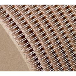 kovové hřbety 14.3mm, bílé