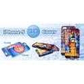 3D obal na Iphone 5  matný povrch