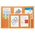 Korková jednostranná tabule 30x40 cm dřevěný rám