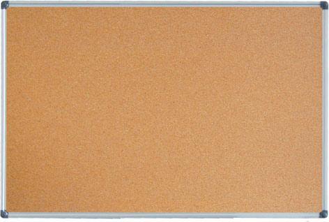korková tabule 90x120 cm, ALU rám