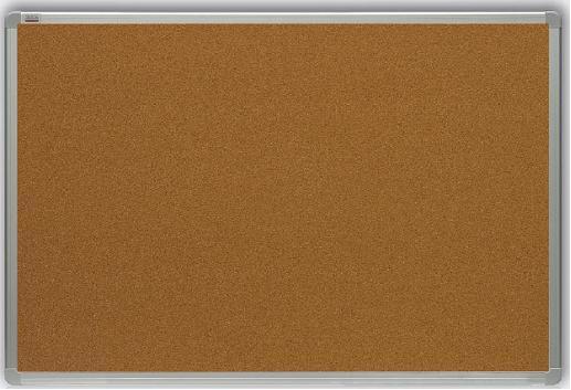 korková tabule 150x100 cm, rám ALU23