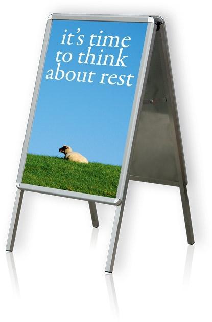tabule plakátová na stojanu, A0